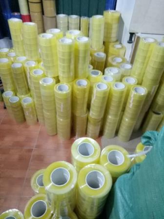 Băng dính dán thùng opp sản xuất tại Minh Sơn