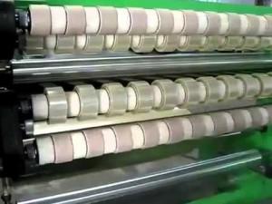 Phân cuộn băng dính trong