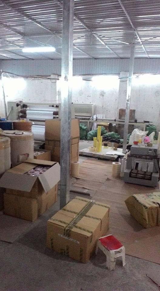 Xưởng sản xuất băng dính Minh Sơn