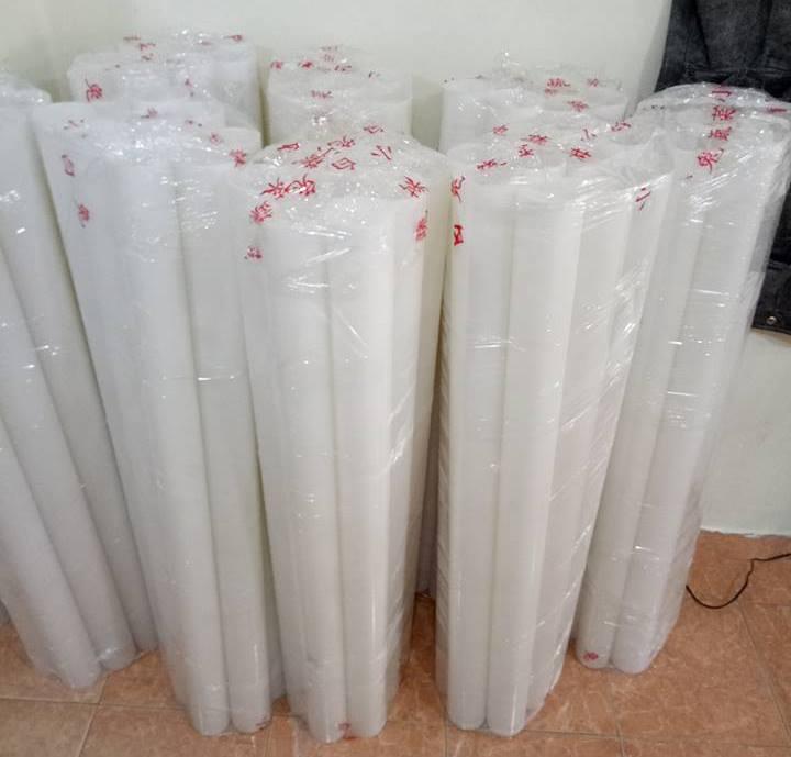 Ống nhựa 130cm làm lõi băng dính