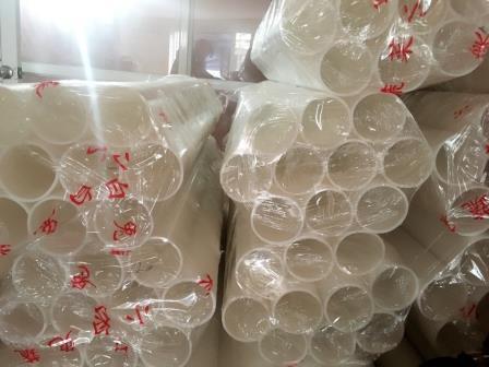 Ống nhựa trắng làm lõi băng dính