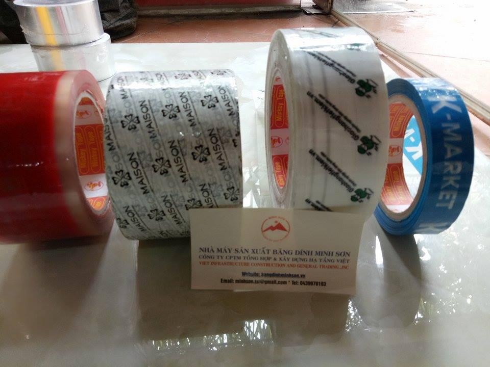 Băng dính in logo tại Hà Nội