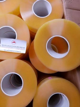 Băng dính cuộn lớn 1kg cuộn lõi nhựa