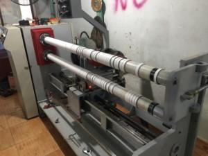 Bán máy cắt băng dính tự động hai trục