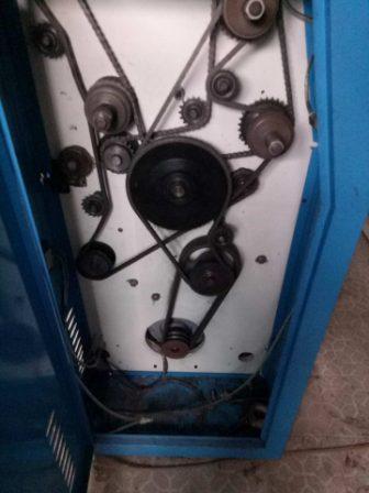 Cấu tạo động cơ máy phân cuộn băng dính