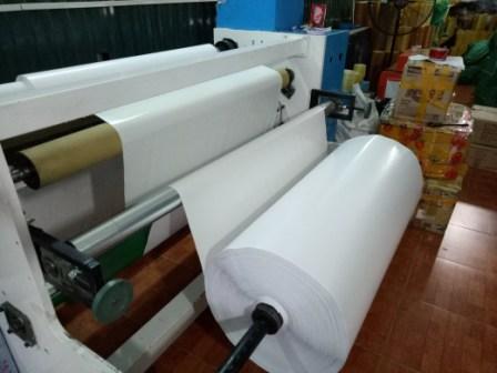 Cuộn hai mặt nguyên liệu sản xuất băng dính