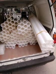 Ống nhựa tiêu chuẩn dùng trong máy cắt băng dính
