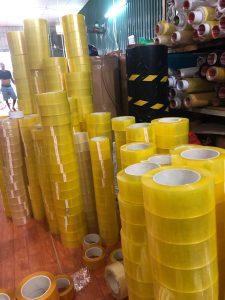 Dây chuyền sản xuất băng dính Minh Sơn